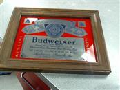 BUDWEISER Entertainment Memorabilia MIRROR